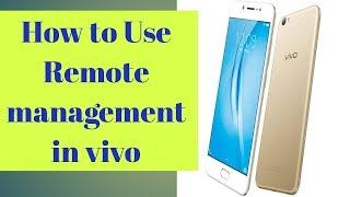 app management in vivo - मुफ्त ऑनलाइन