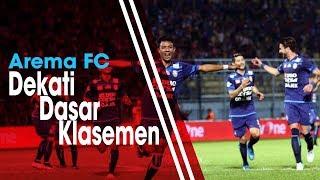 Arema FC Makin Dekati Dasar Klasemen Liga 1 2018.