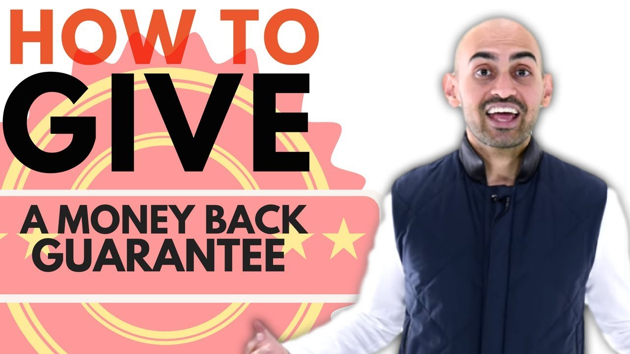 How to Give a Money Back Guarantee Without Getting a Ton of Refunds
