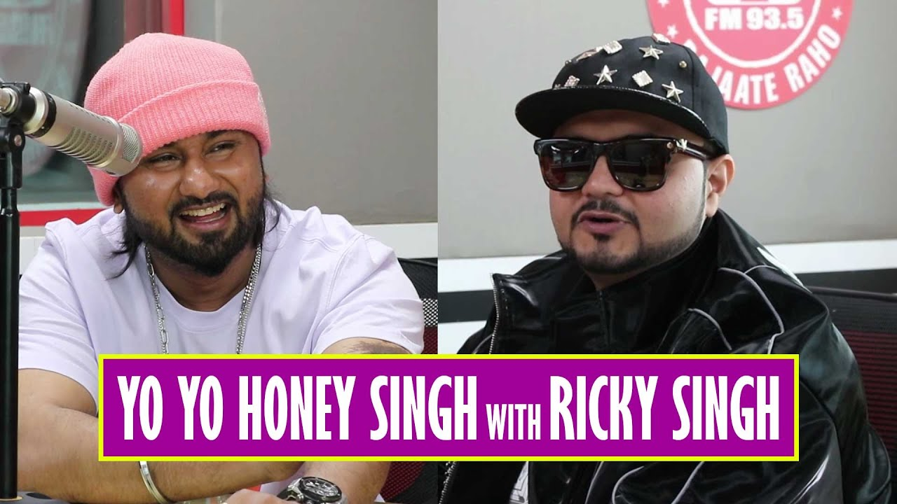 YO YO HONEY SINGH and Ricky Singh Vibe Together - LOCA