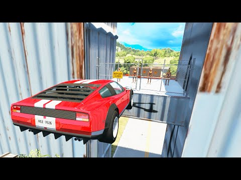 BeamNG Drive - Calculated High Speed Jumps #26