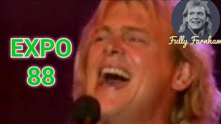 John Farnham - Age of Reason - Live at World Expo 88