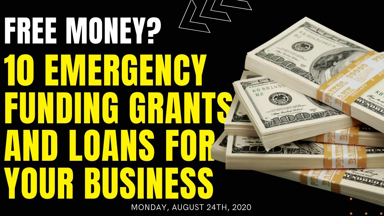 10 Sources of Emergency Situation Financing for your Service - Grants and Loans for your Small Company! thumbnail
