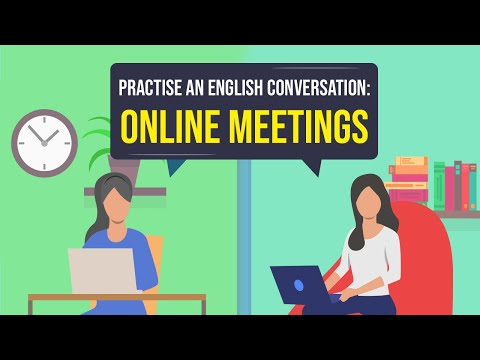 Practise an English Conversation   Online Meetings   EnglishBolo™