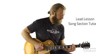 Burning Man Guitar Lesson   Dierks Bentley & Brothers Osborne