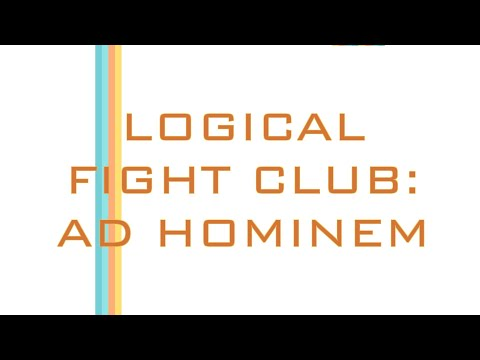 Ad Hominem: So You Made a Logical Fallacy