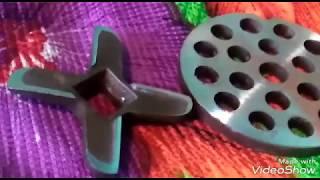 #Как заточить нож,насадки для ручной мясорубки при помощи приспособления для дрели