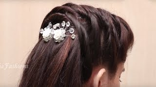 1-Minute Hairstyle Tutorials | Easy Hairstyle For Ladies | Ladies Hairstyle Videos 2017