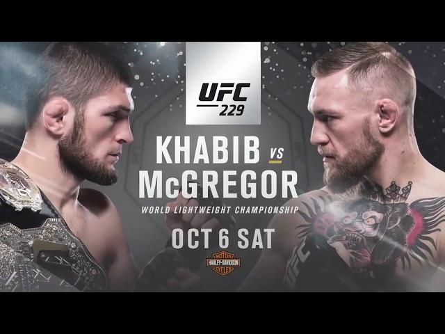 Conor Mcgregor Vs Khabib Nurmagomedov Ufc 229 Promo Reign Of Terror 2018hd