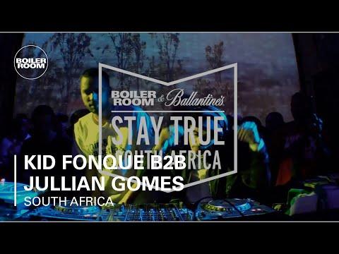 Kid Fonque B2B Jullian Gomes Boiler Room x Ballantine's Stay True South Africa: Part Two DJ Set