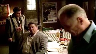 Fat Dom Gets Whacked By Silvio And Carlo   The Sopranos HD