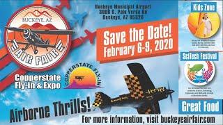 Copperstate Fly In &  Expo Buckeye Air Fair, Feb  6 9 2020 Buckeye Municipal Airport Buckeye Arizona