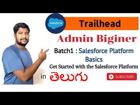 Salesforce Platform Basics (Module)    #Admin Biginer    #Trailhead    #Salesforce in Telugu    Arun