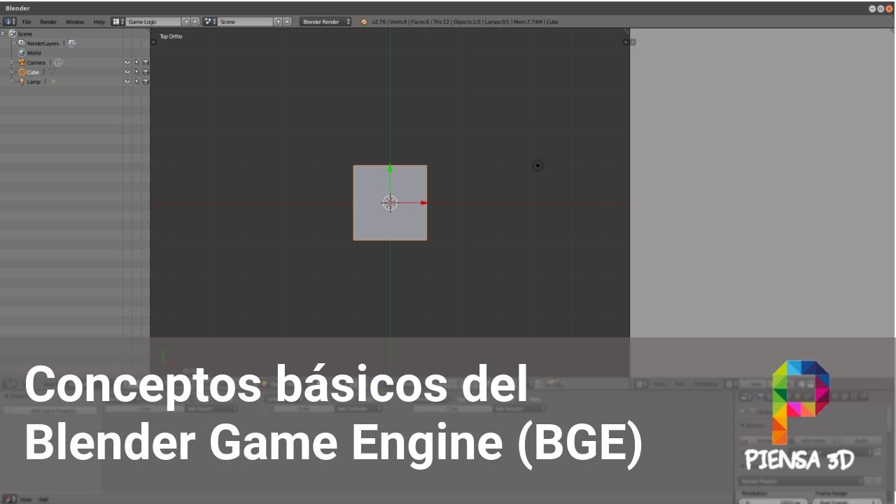 Conceptos básicos | Blender Game Engine