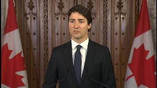 Toronto van attack: Prime Minister Justin Trudeau's statement