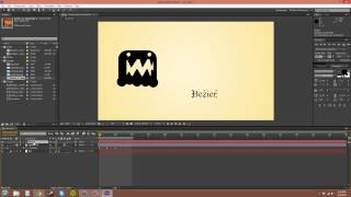 After Effects CS6 Tutorial - 9 - Keyframes and Bezier Handles