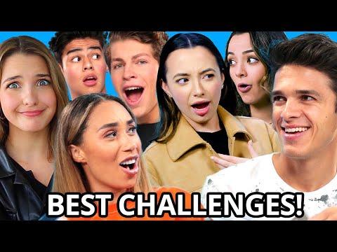 CRAZIEST Challenges Compilation w/ Brent Rivera, Eva Gutowski, Merrell Twins & MORE!