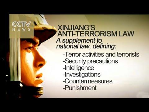 Xinjiang anti-terrorism law unveiled to supplement national legislation