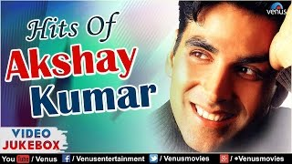 Hits of AKSHAY KUMAR : 90's Romantic Hits | VIDEO JUKEBOX | Evergreen Bollywood Hindi Songs