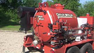 Ditch Witch FX30 Vacuum Excavator Product Tour