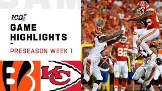 Bengals vs. Chiefs Preseason Week 1 Highlights   NFL 2019