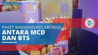 BTS Meal, Paket Makanan Kerjasama antara Idol Grup BTS dengan Gerai Makanan Cepat Saji McDonalds.