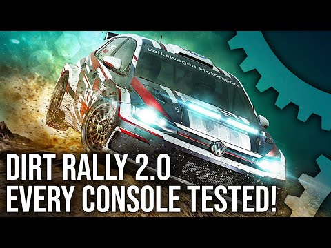 [4K] Dirt Rally 2.0: PS4/Pro vs Xbox One/X - Every Console Tested!