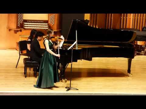 Beethoven Violin Sonata No. 4--December 2017