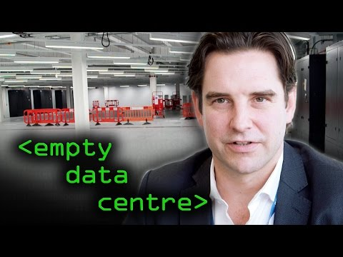 Take A Look Inside A Completely Empty Data Center
