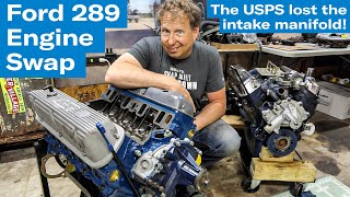 Swapping engine bits from the 260 to the 289 | Sunbeam Tiger engine swap project - Ep. 5
