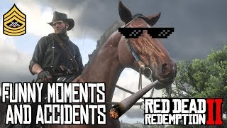 HORSES ARE BAD FOR YOUR HEALTH | Red Dead Redemption 2 Funny Moments