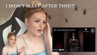 BLOODY MARY?! Reacting to the SCARIEST films on YOUTUBE...