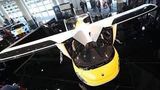 Компания AeroMobil запустит летающий автомобиль в серийное производство (новости)