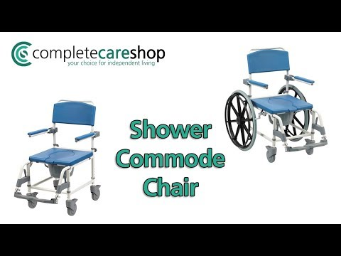 Shower Commode Chair - Comfortable And Attractive
