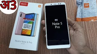 Redmi Note 5 Pro (Gold) Unboxing