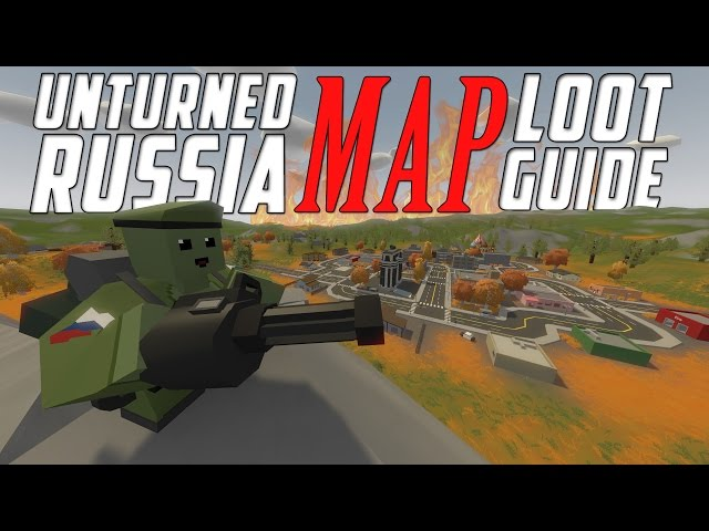 Unturned Seattle Map.Video Unturned Russia Map Loot Guide All Locations