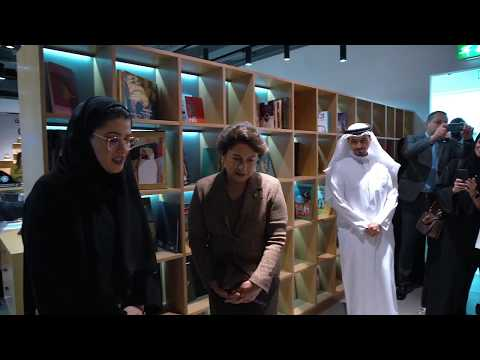 During the visit of the First Lady Nouneh Sarkissian, wife of the President of Armenia to EPA's office during her tour in Sharjah Publishing City