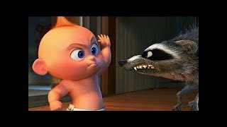 Incredibles 2   Jack Jack Vs Raccoon   Funny Scene