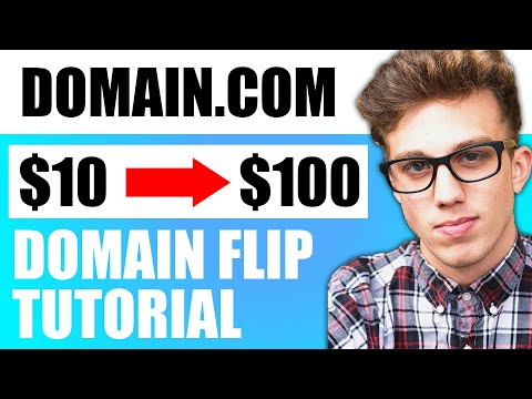 Domain Flipping Tutorial for Beginners | How to Make Money Online Flipping Domain Names!
