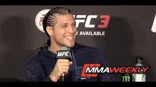 Brian Ortega UFC 222 Post-Fight Press Conference (FULL)