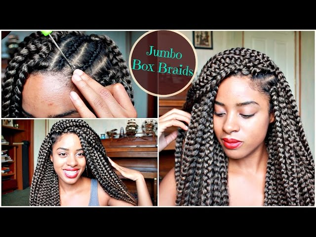 Crochet Box Braids Jumbo : Crochet Braids Tutorial Que 2x how to crochet braids tutorial ...