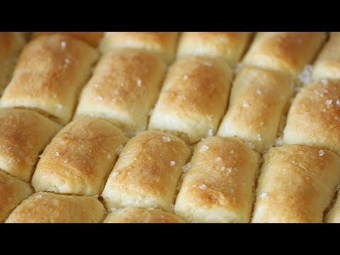 How to Make Light and Fluffy Parker House Rolls- Kitchen Conundrum with Thomas Joseph