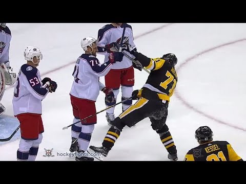 Evgeni Malkin vs. Nick Foligno