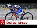 What's The Fastest Speed You've Been On A Bike? | GCN Ask The Pros