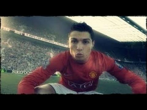 Как играл Криштиану Роналду за Манчестер Юнайтед   Избранные