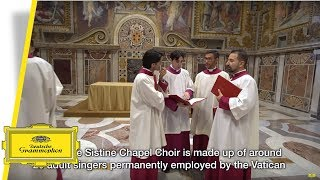Advent & Christmas at the Sistine Chapel - About the Choir (Trailer)