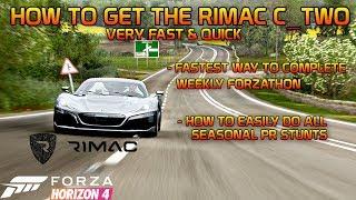 rimac forza horizon 4 how to get - Thủ thuật máy tính - Chia