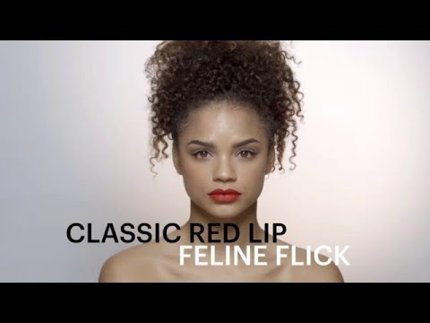 Beauty tips: Party-ready classic red lip tutorial