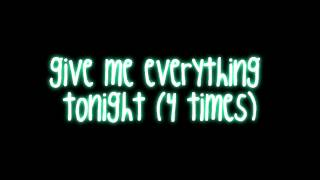 Give Me Everything (Tonight) - Pitbull ft. Neyo   - YouTube