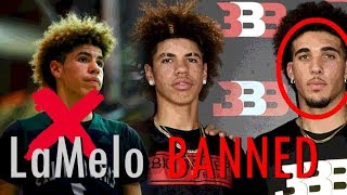 LaMelo Ball BANNED From College! LiAngelo And LaMelo Will Play Overseas At...